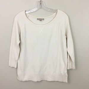 Banana Republic Ivory Knit Pullover